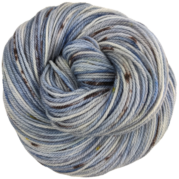 Knitcircus Yarns: The Beacons Are Lit 100g Speckled Handpaint skein, Flying Trapeze, ready to ship yarn