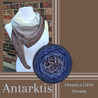 Antarktis Shawl Kit, ready to ship