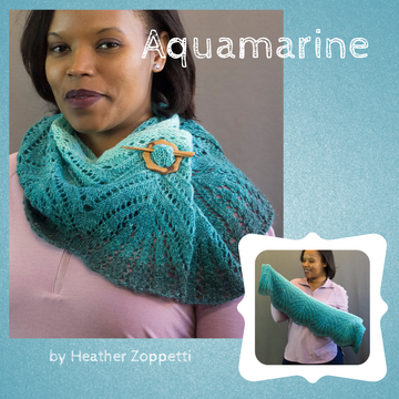 Aquamarine Cowl Kit, ready to ship