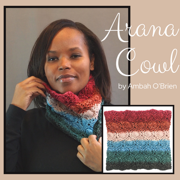 Arana Cowl Yarn Pack, pattern not included, dyed to order