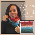 Arana Cowl Yarn Pack, pattern not included, ready to ship