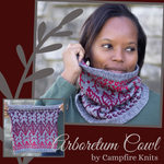Arboretum Cowl Yarn Pack, pattern not included, dyed to order