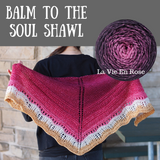 Balm to the Soul Shawlette Kit, dyed to order