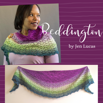 Beddington Shawl Kit, dyed to order