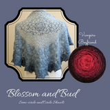 Blossom and Bud Shawl Yarn Pack, pattern not included, ready to ship