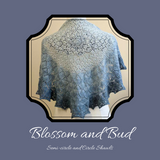 Blossom and Bud Shawl Yarn Pack, pattern not included, dyed to order