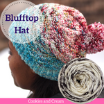 Blufftop Hat Yarn Pack, pattern not included, dyed to order