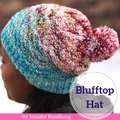 Blufftop Hat Yarn Pack, pattern not included, ready to ship