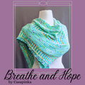 Breathe and Hope Shawl Yarn Pack, pattern not included, ready to ship