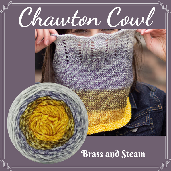 Chawton Cowl Yarn Pack, pattern not included, ready to ship