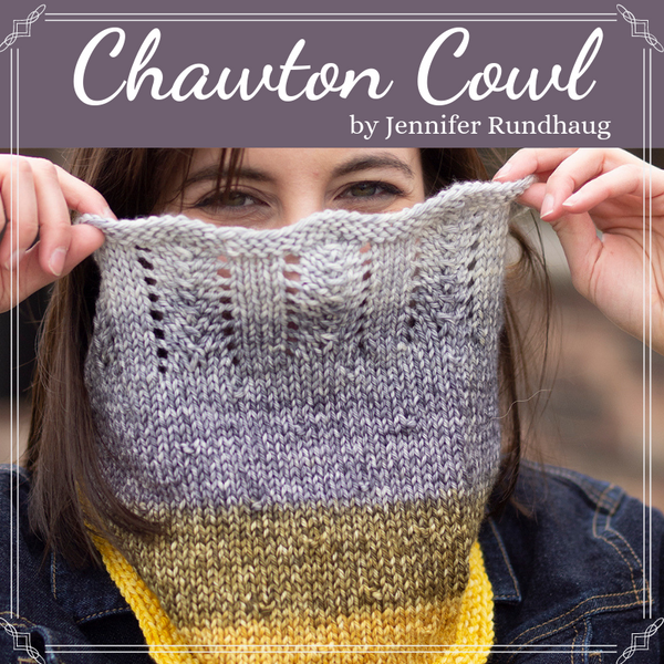 Chawton Cowl Yarn Pack, pattern not included, dyed to order