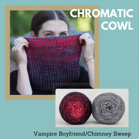 Chromatic Cowl Kit, dyed to order