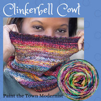 Clinkerbell Yarn Pack, pattern not included, ready to ship