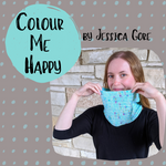 Colour Me Happy Cowl Kit, dyed to order