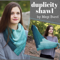 Duplicity Shawl Yarn Pack, pattern not included, ready to ship