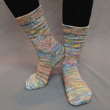 Mischief Managed Abstract Matching Socks Set (medium), Greatest of Ease, choose your cakes, ready to ship