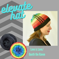 Elevate Hat Yarn Pack, pattern not included, dyed to order