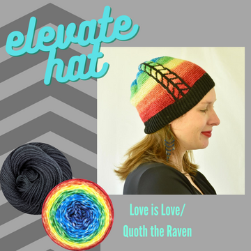 Elevate Hat Yarn Pack, pattern not included, ready to ship
