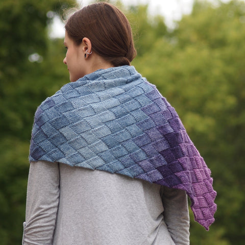 Class: Learn to Knit Entrelac with Katie Krot at our store on September 29th from 1:00-3:00pm