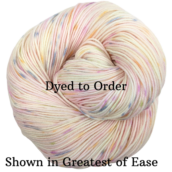 Knitcircus Yarns: Fly Little Bird Speckled Handpaint Skeins, dyed to order yarn