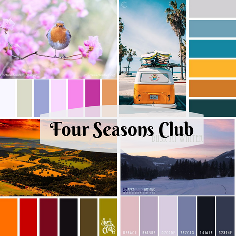 2019-2020 Four Seasons Club - 4 Packages - CLOSED
