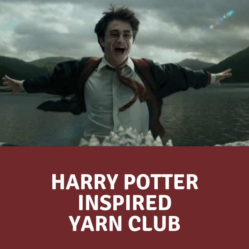 2019 Harry Potter Yarn Club - 6 Packages - CLOSED