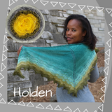 Holden Shawl Kit, ready to ship