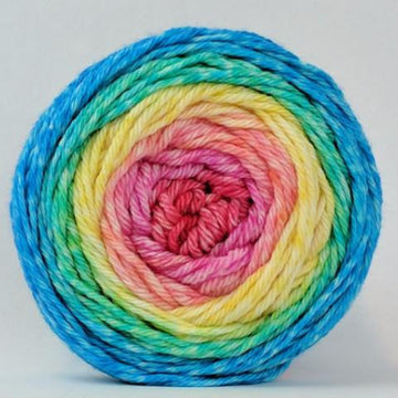 Knitcircus Yarns: Cindy Lou Who 100g Panoramic Gradient, Ringmaster, ready to ship yarn