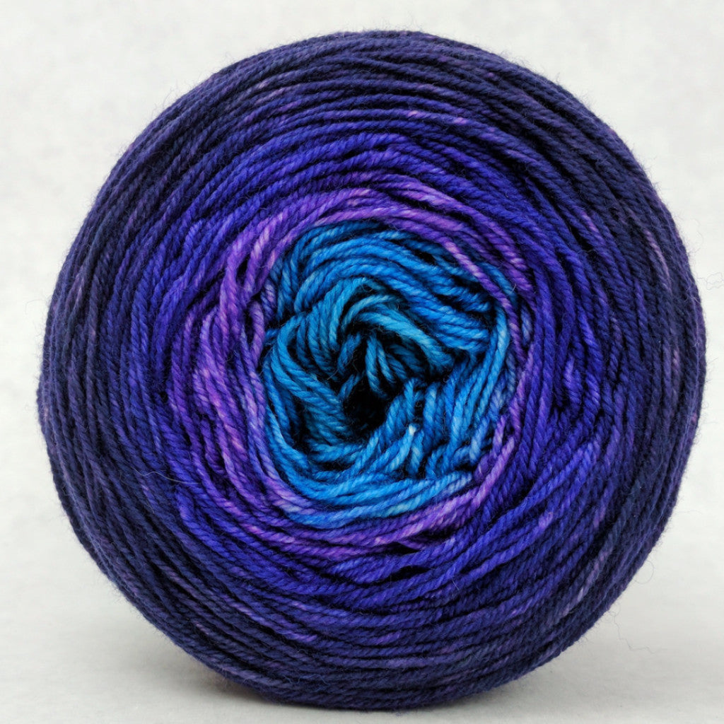 The Knit Sky 100g Panoramic Gradient, Trampoline, ready to ship