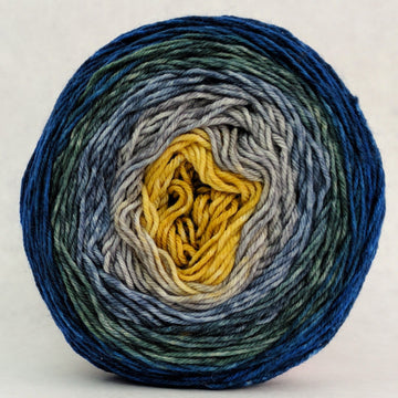 Knitcircus Yarns: Pardon Me, Sir 100g Panoramic Gradient, Greatest of Ease, ready to ship yarn
