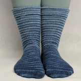 Pigeon Gradient Striped Matching Socks Set, dyed to order