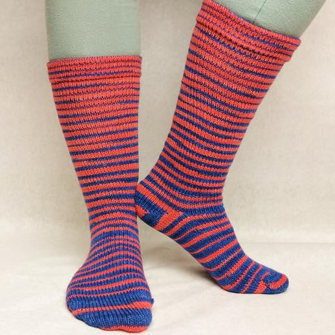 Da Bears Gradient Striped Matching Socks Set (medium), Trampoline, ready to ship