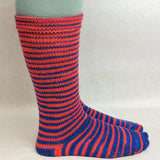 Da Bears Gradient Striped Matching Socks Set, dyed to order