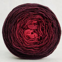 Knitcircus Yarns: Vampire Boyfriend 100g Chromatic Gradient, Greatest of Ease, ready to ship yarn