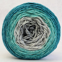 Knitcircus Yarns: Believe in Miracles 100g Panoramic Gradient, Trampoline, ready to ship yarn
