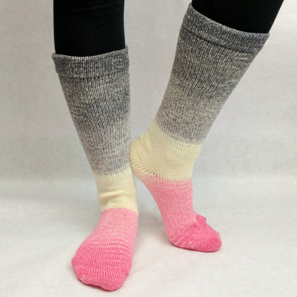 Come What May Panoramic Gradient Matching Socks Set (medium), Greatest of Ease, ready to ship