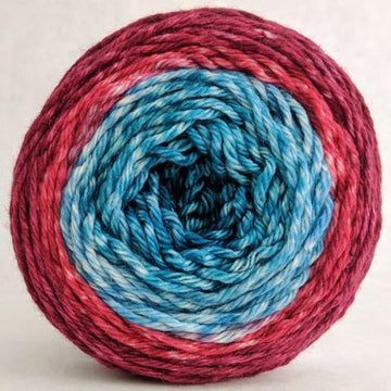 Knitcircus Yarns: Birds of a Feather 150g Panoramic Gradient, Ringmaster, ready to ship yarn