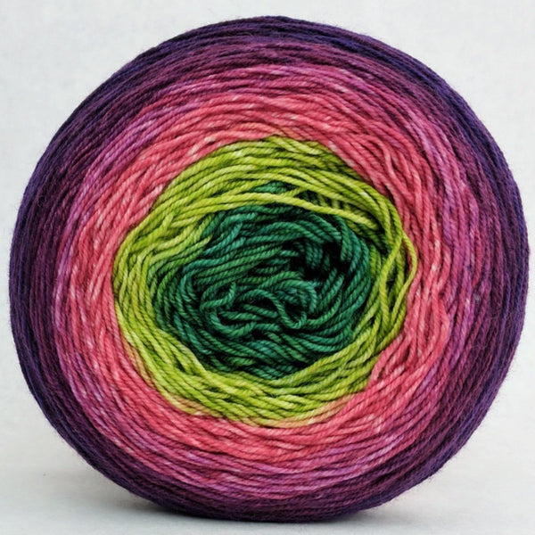 Knitcircus Yarns: Just Beet It 150g Panoramic Gradient, Trampoline, ready to ship yarn