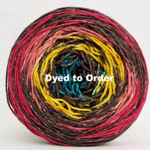 Circus 100g Extreme Stripes, Greatest of Ease, dyed to order
