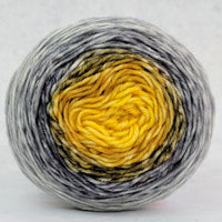 Knitcircus Yarns: Brass and Steam 50g Panoramic Gradient, Greatest of Ease, ready to ship yarn