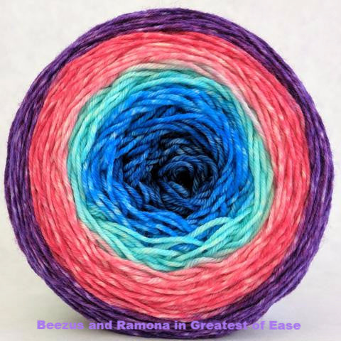 Beezus and Ramona Panoramic Gradient, dyed to order