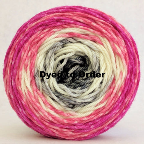 Come What May 100g Gradient Stripes, Ringmaster, dyed to order