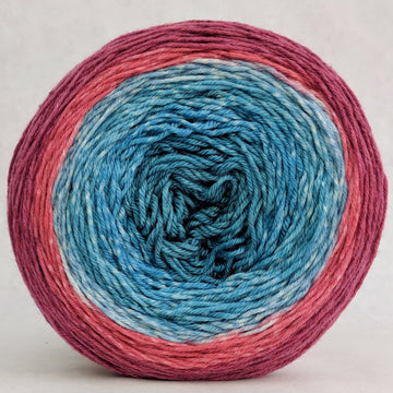 Knitcircus Yarns: Birds of a Feather 150g Panoramic Gradient, Parasol, ready to ship - SALE
