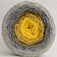 Knitcircus Yarns: Brass and Steam 150g Panoramic Gradient, Parasol, ready to ship yarn