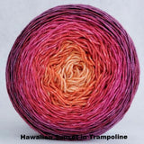 Hawaiian Sunset Panoramic Gradient, dyed to order