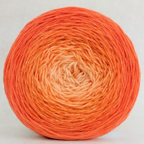 Knitcircus Yarns: Orange You Glad 150g Chromatic Gradient, Greatest of Ease, ready to ship yarn