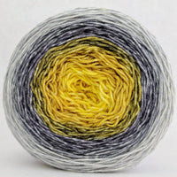 Knitcircus Yarns: Brass and Steam 150g Panoramic Gradient, Greatest of Ease, ready to ship yarn