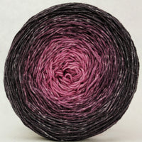Knitcircus Yarns: La Vie en Rose 150g Chromatic Gradient, Greatest of Ease, ready to ship yarn