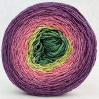 Knitcircus Yarns: Just Beet It 100g Panoramic Gradient, Parasol, ready to ship yarn