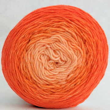 Knitcircus Yarns: Orange You Glad 100g Chromatic Gradient, Greatest of Ease, ready to ship yarn